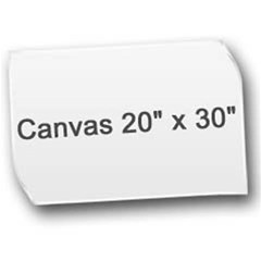 Canvas 20  x 30