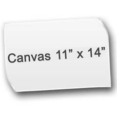 Canvas 11  x 14
