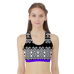 Women s Reversible Sports Bra with Border