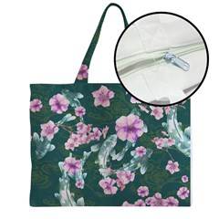 Zipper Medium Tote Bag
