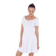 Short Sleeve Bardot Dress