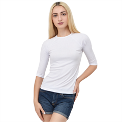 Women s Quarter Sleeve Raglan Tee