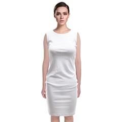 Classic Sleeveless Midi Dress