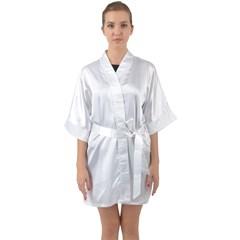 Quarter Sleeve Kimono Robe