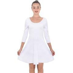 Quarter Sleeve Skater Dress