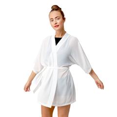 Half Sleeve Chiffon Kimono