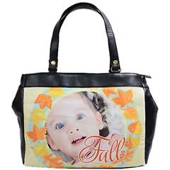 Oversize Office Handbag (One Side)