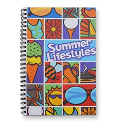 5.5  x 8.5  Notebook