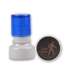 Rubber Stamp Round (Small)