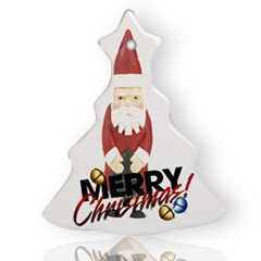 Christmas Tree Ornament (Two Sides)