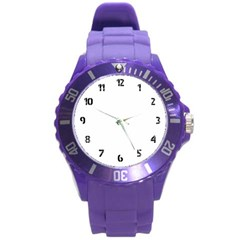 Round Plastic Sport Watch (L)