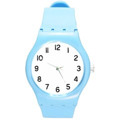 Round Plastic Sport Watch (M)