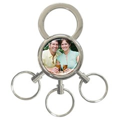 3-Ring Key Chain