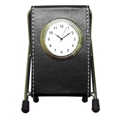 Pen Holder Desk Clock