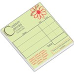 custom canvas receipts - Small Memo Pads