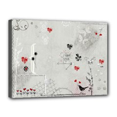 Love Canvas - Canvas 16  x 12  (Stretched)