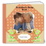 8x8 Deluxe- Grandma s Brag Book 8x8 - 8x8 Deluxe Photo Book (20 pages)