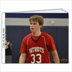 Alex Sr 2013 bball - 7x5 Photo Book (20 pages)