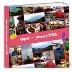 Taiwan 2013 - 8x8 Deluxe Photo Book (20 pages)