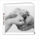 my lovely family - 6x6 Photo Book (20 pages)