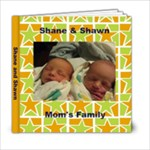 Shane and Shawn - 6x6 Photo Book (20 pages)