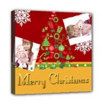 merry christmas, happy new year, xmas - Mini Canvas 8  x 8  (Stretched)