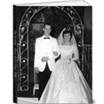 mom and dad  wedding pics - 9x12 Deluxe Photo Book (20 pages)