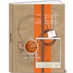 Basketball 9x7 Deluxe Photo Book - 9x12 Deluxe Photo Book (20 pages)