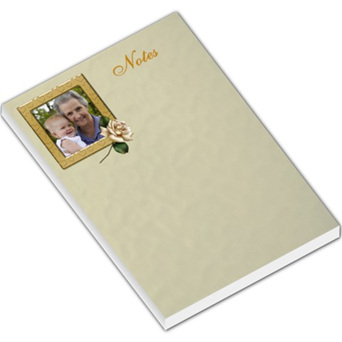 Lovely Notes Large Memo By Deborah   Large Memo Pads   2odguidr99rq   Www Artscow Com