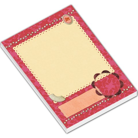 Memopad M For Mom By Shelly   Large Memo Pads   Ke1pnw0yz6e2   Www Artscow Com