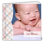Jordan - Two Months - 8x8 Deluxe Photo Book (20 pages)