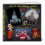 DISNEY BOOK - 8x8 Photo Book (20 pages)