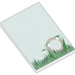 Snowdrops Spring MemoPad - Large Memo Pads