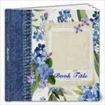 Blue Jeans & Roses 12x12 Book - 12x12 Photo Book (20 pages)
