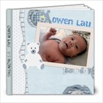 owen 1 - 8x8 Photo Book (20 pages)