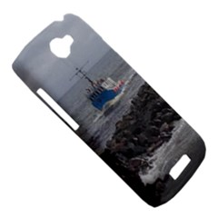 HTC One S Hardshell Case  Left 45