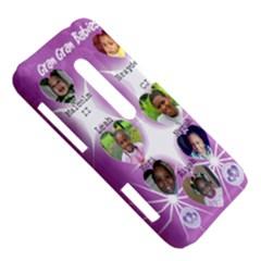 HTC Evo 3D Hardshell Case  Left 45