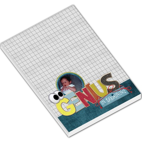 Learn Discover Explore Memo Pad 2 By Lisa Minor   Large Memo Pads   Q0prbnciav73   Www Artscow Com