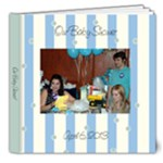 Baby Shower Book - 8x8 Deluxe Photo Book (20 pages)