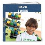 David 5 a?os - 8x8 Photo Book (20 pages)