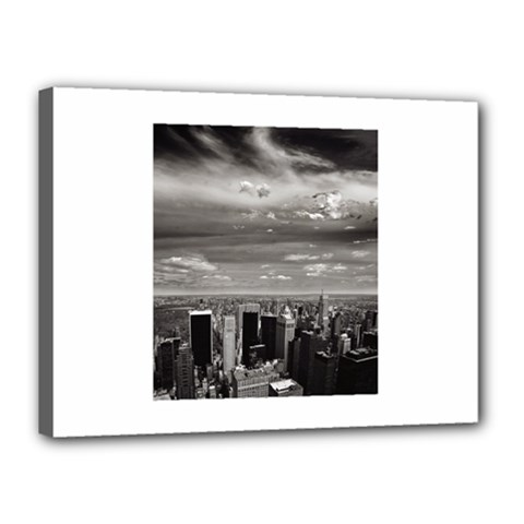 New York 12  X 16  Framed Canvas Print by artposters