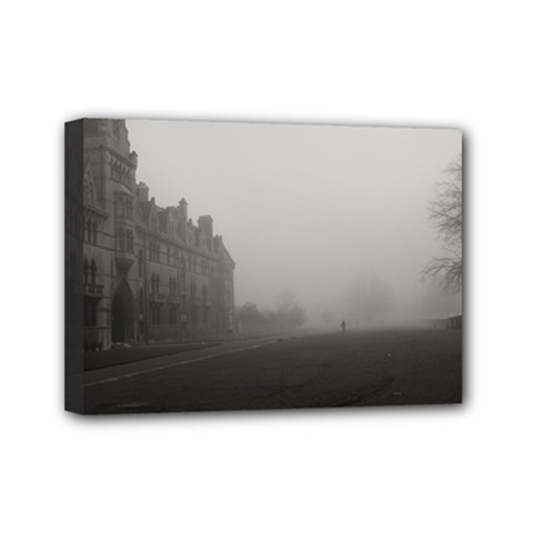 Christ Church College, Oxford 5  X 7  Framed Canvas Print by artposters
