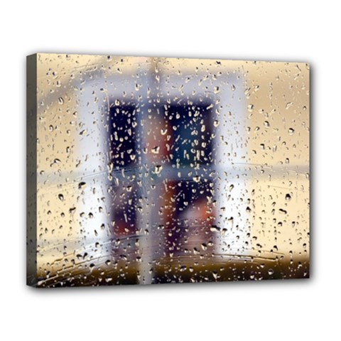 Rainy Day 11  X 14  Framed Canvas Print by artposters