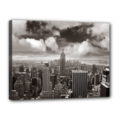 New York, Usa 12  X 16  Framed Canvas Print