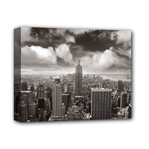 New York, Usa Deluxe Canvas 14  X 11  (stretched) by artposters