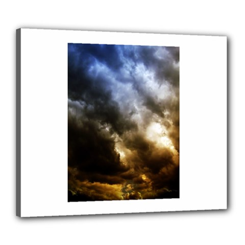 Cloudscape 20  X 24  Framed Canvas Print by artposters