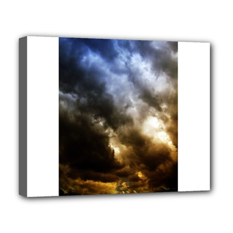 Cloudscape Deluxe Canvas 20  X 16  (stretched) by artposters