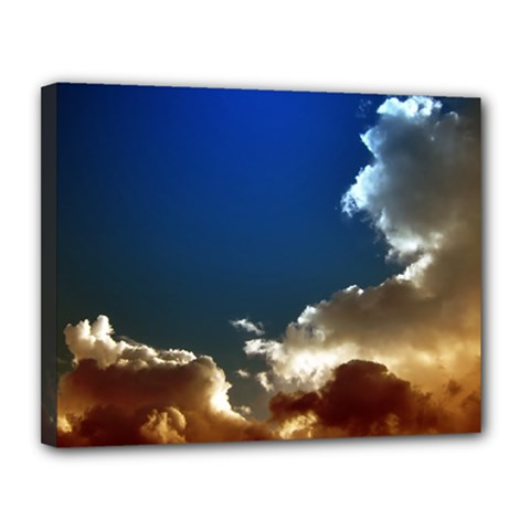 Cloudscape 11  X 14  Framed Canvas Print by artposters