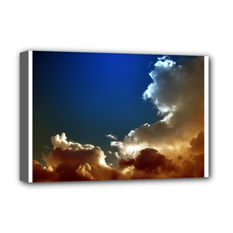 Cloudscape Deluxe Canvas 18  X 12  (stretched) by artposters