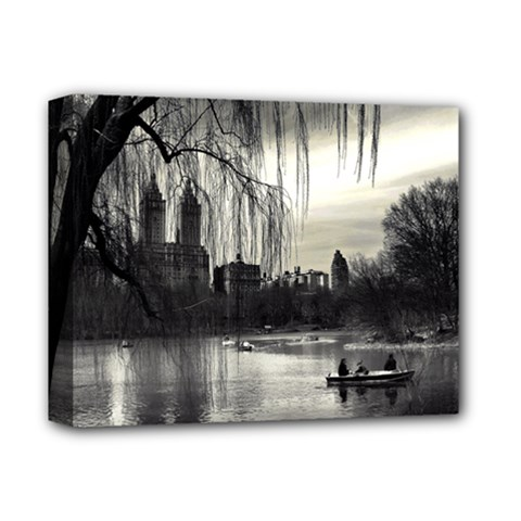 Central Park, New York Deluxe Canvas 14  x 11  (Stretched) by artposters